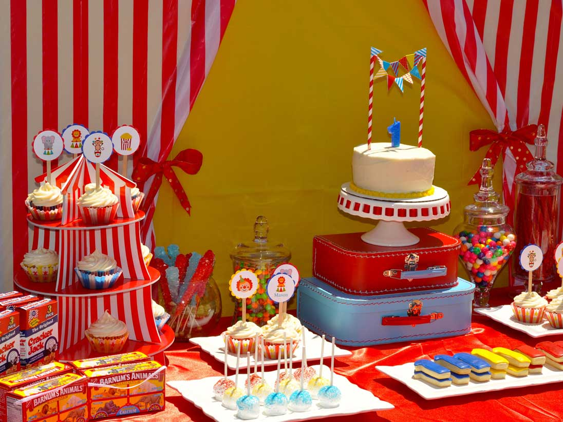 Circus/Carnival - Cherry On Top Parties
