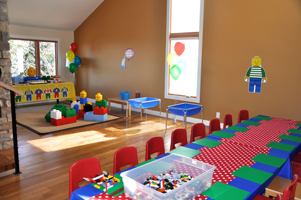 Awesome Classroom Decor ~ Lego cherry on top parties